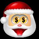 Santa Claus Money icon