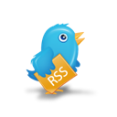 twitter, bird, rss icon