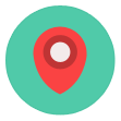 pushpin, navigation, location, map, marker, navigate, mapmarker icon