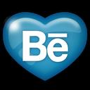 social, behance, media icon