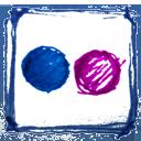 Drawn, Flickr, Hand icon