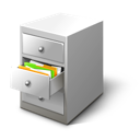 Cabinet, Card, File icon