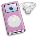 pink, mini, ipod icon