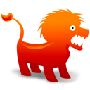 lion, animal icon