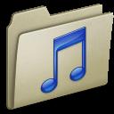 Lightbrown, Music icon