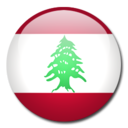 lebanon,flag,country icon