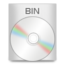 File Types BIN icon