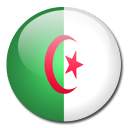 flag, algeria, country icon