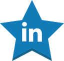 best, in, linkedin, socal, favorite, win, star icon
