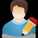 human, user, male icon