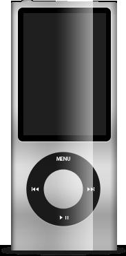 ipod, gray, nano icon