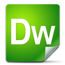 Adobe, Dreamweaver, icon