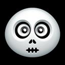 horror, skull, halloween icon