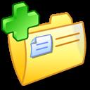 plus, folder, add icon