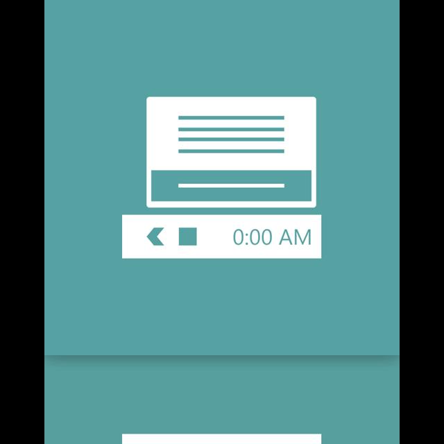 mirror, area, notification icon