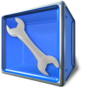 box, tool, config icon