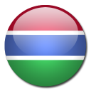 country, gambia, flag icon
