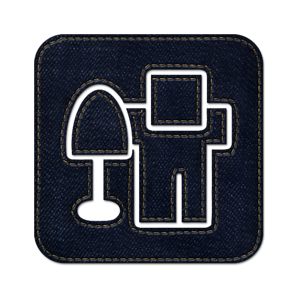 jean, social, square, digg, denim icon