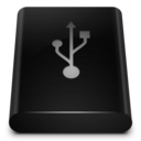 black,drive,usb icon