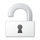 unlock, security icon