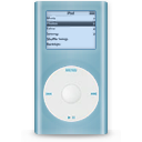 Blue, g, Ipod, Mini icon