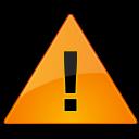 Dialog, Warning icon
