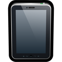 touch, tablet, phone, device, reader icon