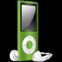 iPod Nano green off icon