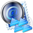 message, mail, letter, envelop, replayall, email icon