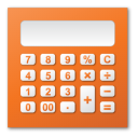 red, calc, calculator, calculation icon