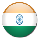 country, india, flag icon