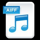 Aiff, Audio, File icon