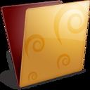 golden,folder icon