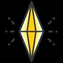 crystal, pokemon, go, play, game icon