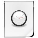 paper, file, document, temporary, alarm, clock, history, time, alarm clock icon