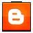 social, blogger icon