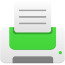 printer green icon