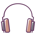 play, music, headphones, device, sound, audio, electronics icon