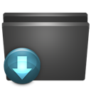 Downloads, Folder, My, Px icon