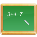 black board, education, learn, math, tutorial, teach, calculate, school, teaching, mathematics icon