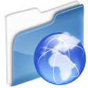 dossier, network icon