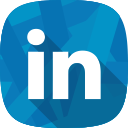 linkedin, recruitment, social network, hr icon