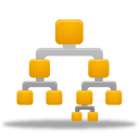Binary, Department, Tree icon