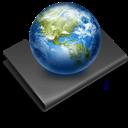 Black, Sites icon