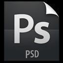File, Psd, z icon