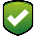 security, ok, tick, protect, shield icon