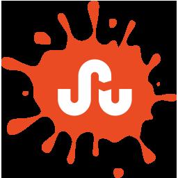 social, blot, set, stumbleupon, media icon
