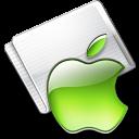 Folder Apple lime icon