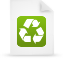 green, file, document, paper icon