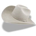 hat,cowboy,white icon